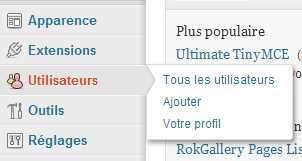 utilisateur-wordpress-menu-principal